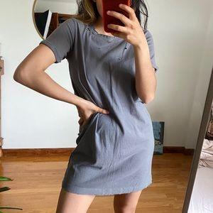 distressed hollister tshirt dress